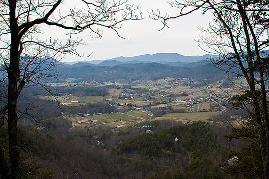 There's a reason they call them the Blue Ridge Mountains by Noah Siano
