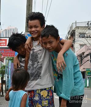 Thi street kids  02 by Bobby Mandal