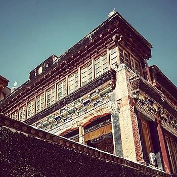 Thiksey Monastery by Hitendra SINKAR