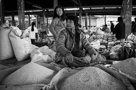 Thimphu Markets by James McRae