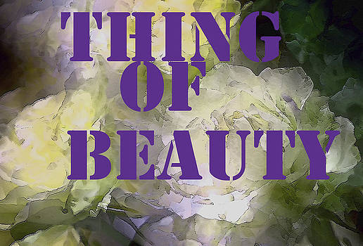 Pamela Cooper - Thing Of Beauty