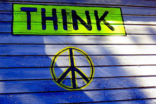Think Peace by David  Brown