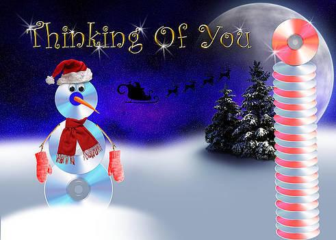 Jeanette K - Thinking Of You CD Snowman