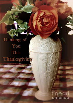 Thinking of You Thanksgiving by Diana Besser