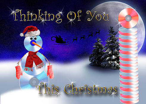 Jeanette K - Thinking Of You This Christmas CD Snowman