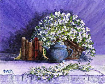 Thinking Purple by Rita Miller
