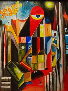Third Eye by Frank B Shaner