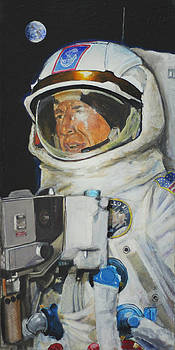 Thirteens Dream- Jim Lovell  by Simon Kregar