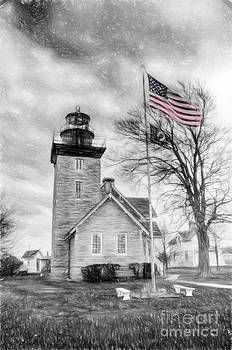 Thirty Mile Point Light by Jim Lepard
