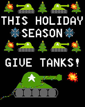 This Holiday Season Give Tanks by Jera Sky