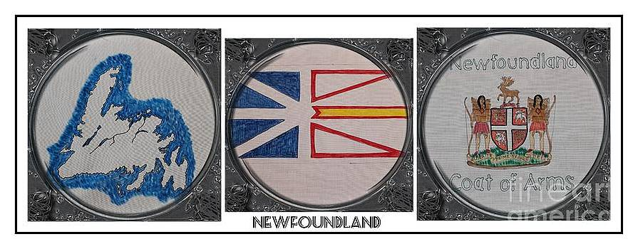 Barbara Griffin - This is Newfoundland - Map - Flag - Coat of Arms