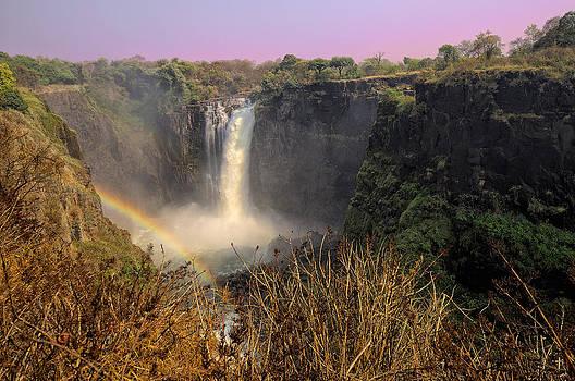 Paul W Sharpe Aka Wizard of Wonders - This is Zimbabwe No.  1 - Thundering Victoria Falls