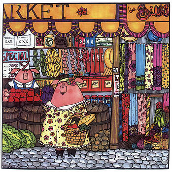 This Little Piggy Went To Market by Sarajane Helm