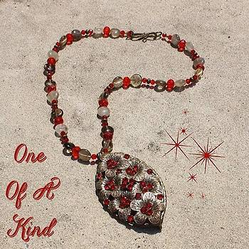 This One Of A Kind Necklace Is Made by Teresa Mucha