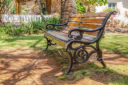 This park bench by Kantilal Patel