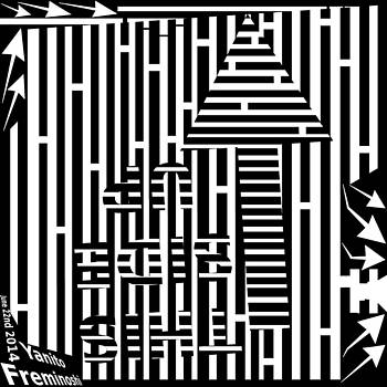 This Side Up OCD Maze by Yanito Freminoshi