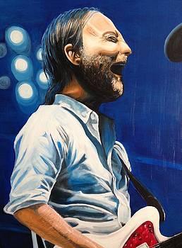 Thom Yorke of Radiohead by Aaron Joseph Gutierrez