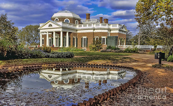 Thomas Jefferson's Monticello by Joe McCormack Jr