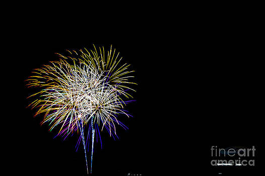 Thomas Road Fireworks by Mark East