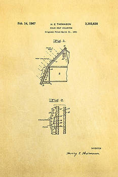 Ian Monk - Thomason Solar Panel Patent Art 1967