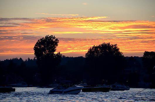Linda Rae Cuthbertson - Thousand Island Sunset