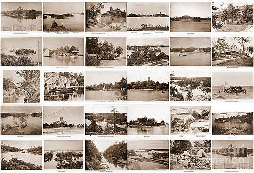 Linda Rae Cuthbertson - 1889 Collage of Thousand Islands 30 photos