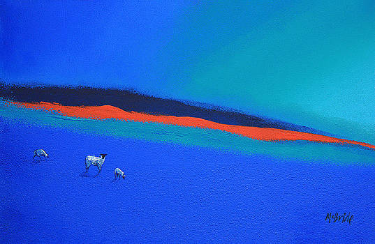 Neil McBride - Three blues and a red