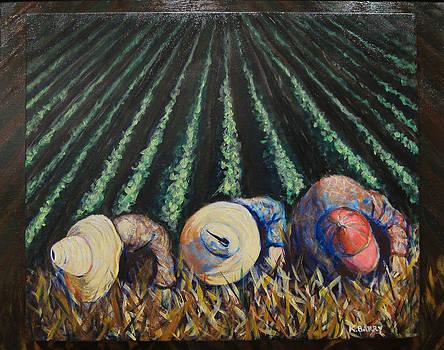 Three Cuban Field Hands by Kathryn Barry