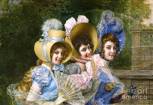 Roberto Prusso - Three elegant ladies