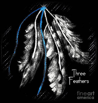 Three Feathers the Trinity by Eva Thomas