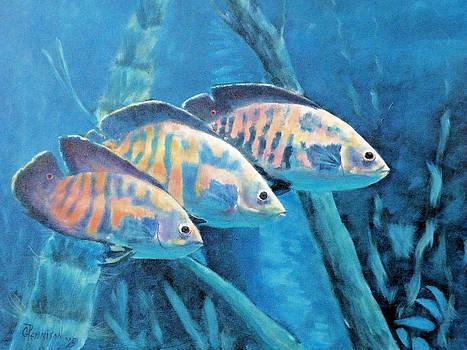 Three Fish by Gilbert Pennison