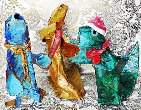 Sarah Loft - Three Fishy Tenors Sing Christmas Carols