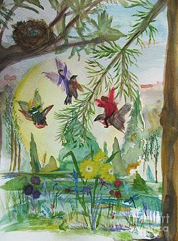 Three Friends go Flying by Susan Snow Voidets