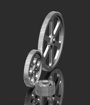 Three gears by Borislav Marinic