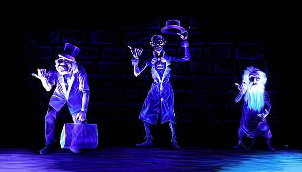 Three Hitchhiking Ghosts by Jennifer Hotai