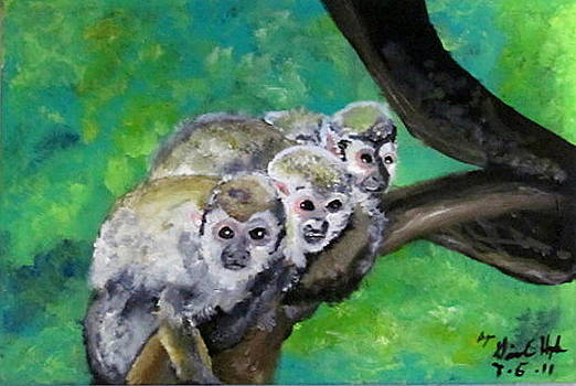 Three Little Monkies by Gina Hyde