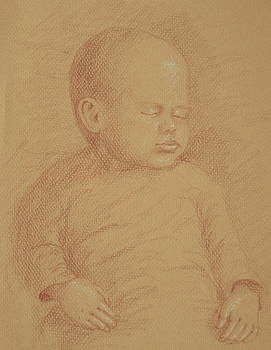 Three Months Old by Deborah Dendler