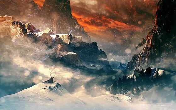 Three Mountains by Tobias Roetsch