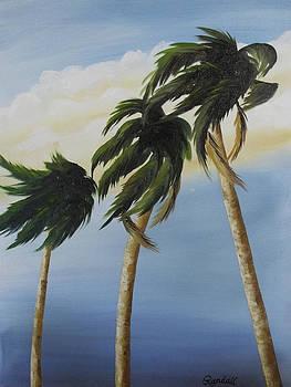 Three Palms by Randall Brewer