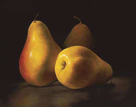 Three Pears by Anthony Enyedy