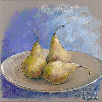 Three Pears by Viacheslav Rogin