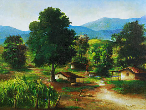 Three Roads by Julio Ortiz