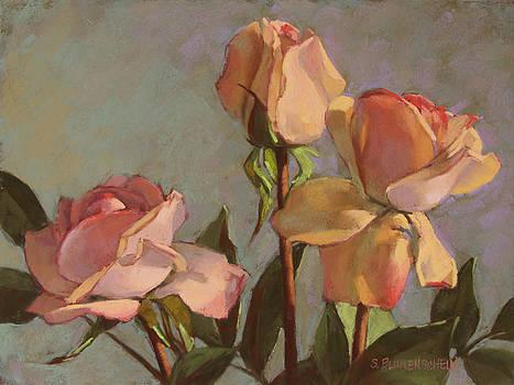 Three Roses by Sarah Blumenschein