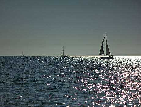 Amazing Jules - Three Sailboats