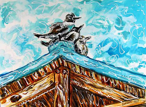Three Seagulls by Douglas Durand