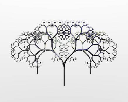 Three Tree Tableau by Chris Whitside