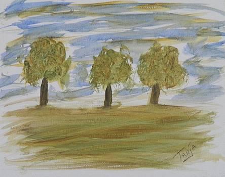Three Trees by Tanja Beaver