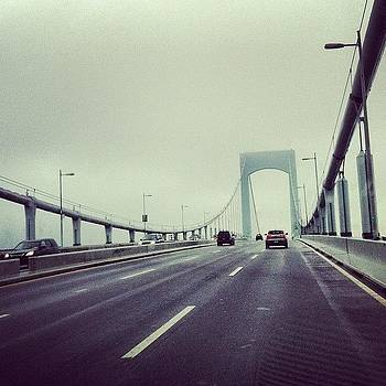 #throgsneckbridge  #nyc by Cheryl Fallon