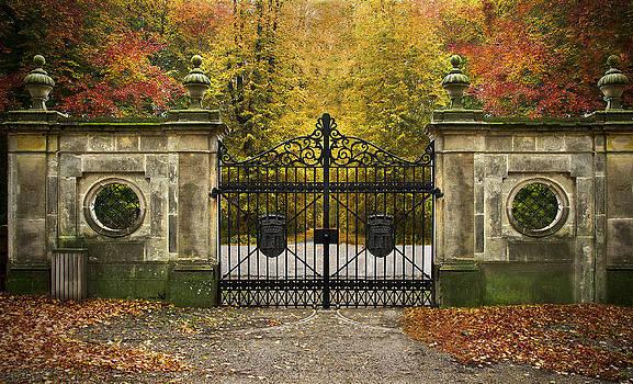 Henrik Petersen - Through a gate for the autumn forest