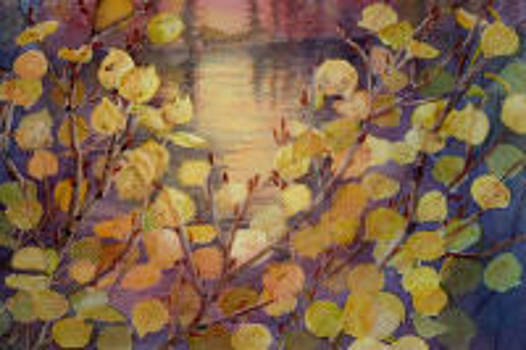Through Autumn Leaves by Mary Levingston
